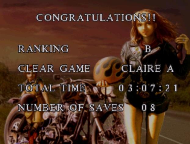 Fin de partida, Resident Evil 2
