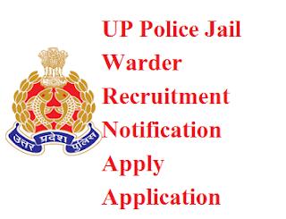 UP Police Jail Warder Jobs Application form prpb.gov.in