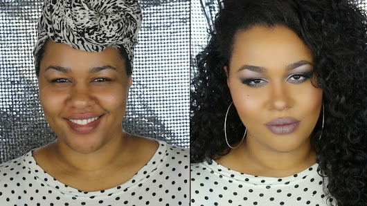 "Get Ready w/Me Grey Cut Crease ""Grey Out"" + Plus Size OOTN ! (VIDEO)"