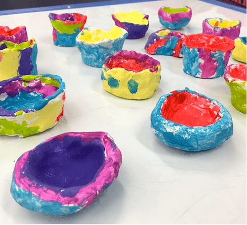 Mother's Day Gifts: Fast Drying Clay Pots.