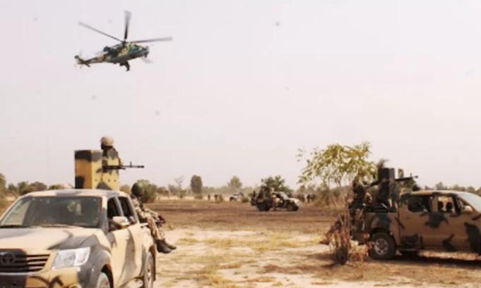 naf jets destroy boko haram building sambisa