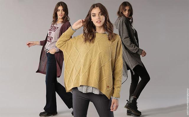 Moda otoño invierno 2018 ropa de mujer.