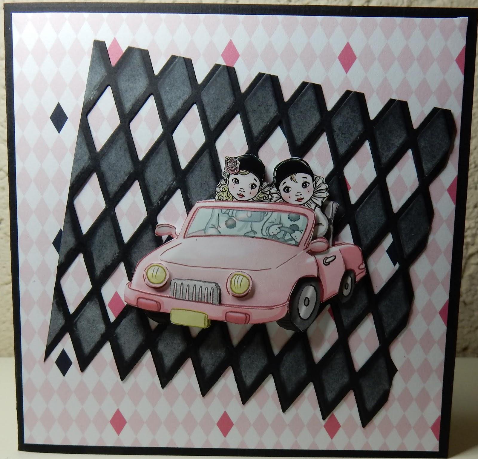 Extreem Hetty's Knutselhokkie!: Pretty Pierrot 2 Yvonne creations #YU94