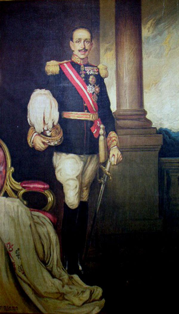 Fernando Álvarez de Sotomayor, Retrato de Alfonso XIII por Fernando Álvarez de Sotomayor, Alfonso XIII, Retratos de Fernando Álvarez de Sotomayor, Retrato de Alfonso XIII, Pintor español, Retratos de Alfonso XIII, Alfonso XIII Retratado
