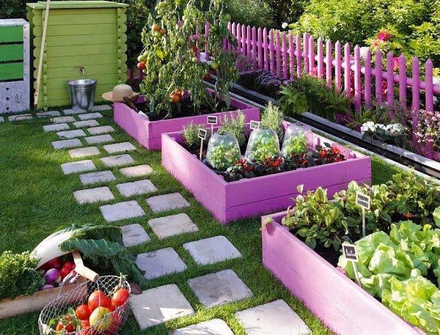 Mil Ideas Para La Casa Y El Jardin - Ideas-para-jardines