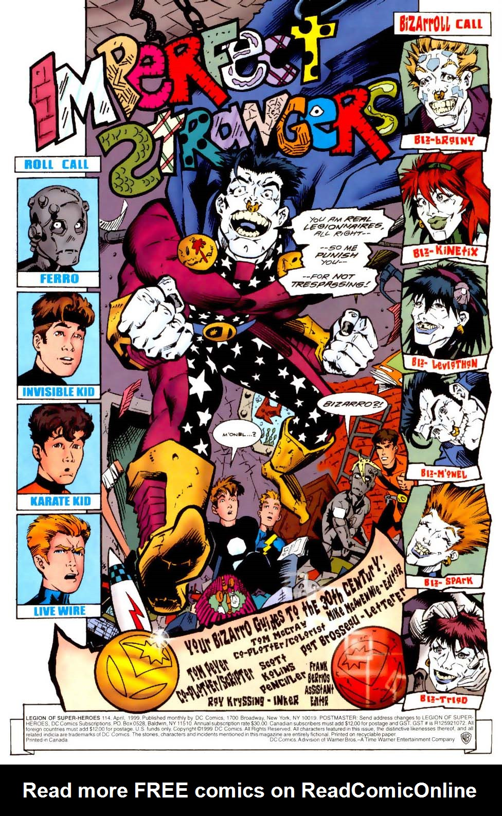 Legion of Super-Heroes (1989) 114 Page 4