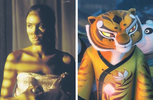 Angelina Jolie - Master Tigress - Kung Fu Panda