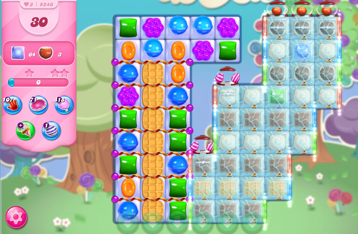 Candy Crush Saga level 5246