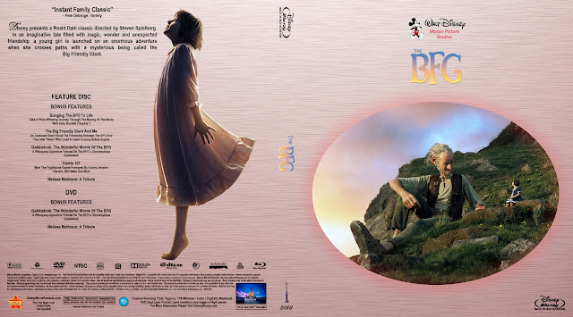 The BFG Bluray Cover
