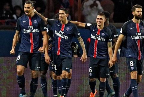 PSG đã 4 lần liên tiếp vô địch Ligue 1.