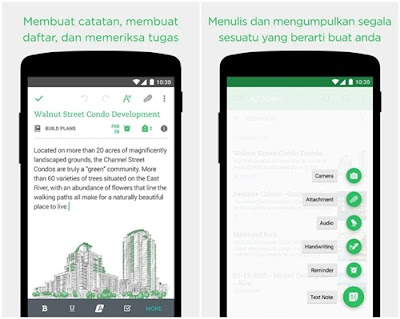 aplikasi catatan evernote