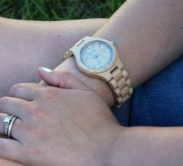 jord watch, wood watch