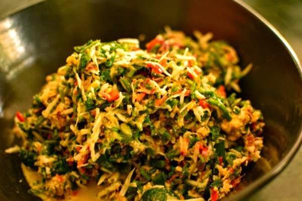 Resep Masakan Khas Bali, Lawar Ayam yang Lezat