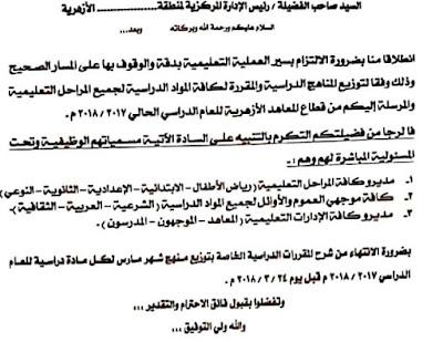خبر هام وعاجل لجميع المعلمين ابتدائي اعدادي ثانوي  لعام 2018