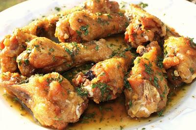 Chicken Marsala Sauce wings