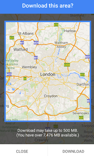 Big Offline Google Maps on embedded maps, altered maps, download maps, information maps,
