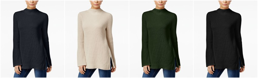 Style&Co Mock Neck Bell Sleeve Sweater $25 (reg $50)