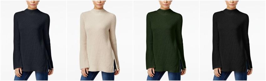 Style&Co Mock Neck Bell Sleeve Sweater $25 (reg $50)