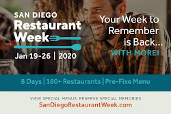San Diego Restaurant Week Returns This January 19-26!