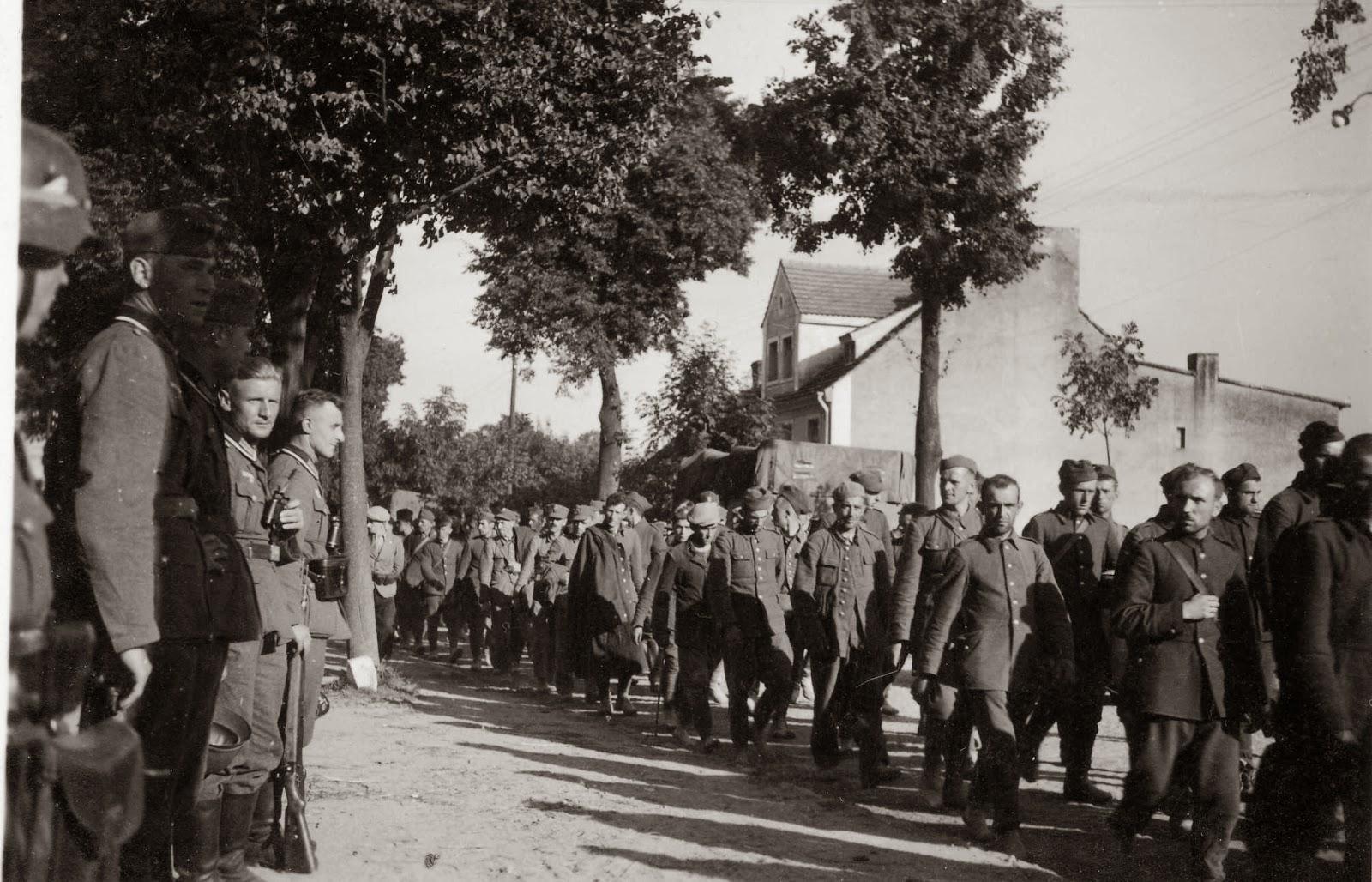 Начало второй мировой войны в картинках