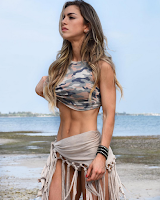 Top 5 The beautiful woman with muscles : 2 - Anllela Sagra (Colombia)