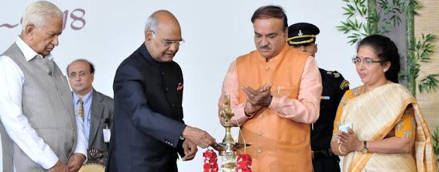 Ananth Kumar opening Adamya Chetana Foundation