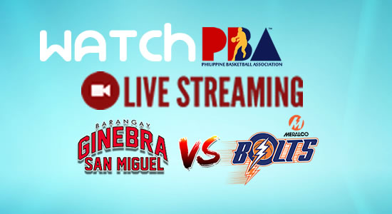 Livestream List: Ginebra vs Meralco game live streaming February 18, 2018 PBA Philippine Cup