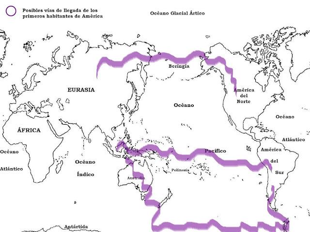 La Dispersión De Cercano Oriente Al Mundo Ii 1: Historia 1er Año: Mapas