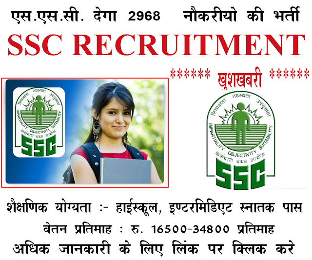 Haryana Staff Selection Commission HSSC Group-D Post Recruitment 2018