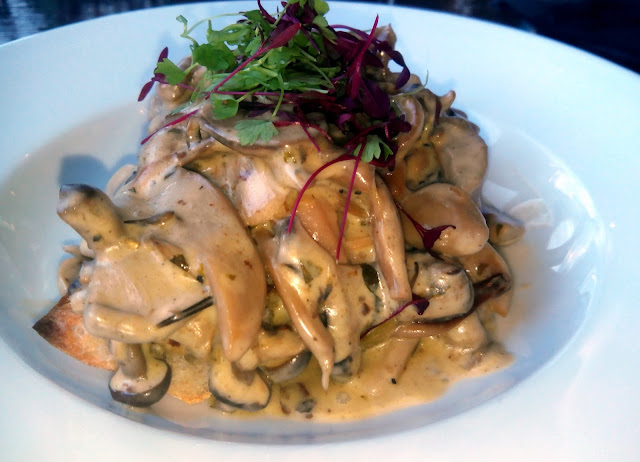 hispaniola spring menu wild mushroom with stilton cream