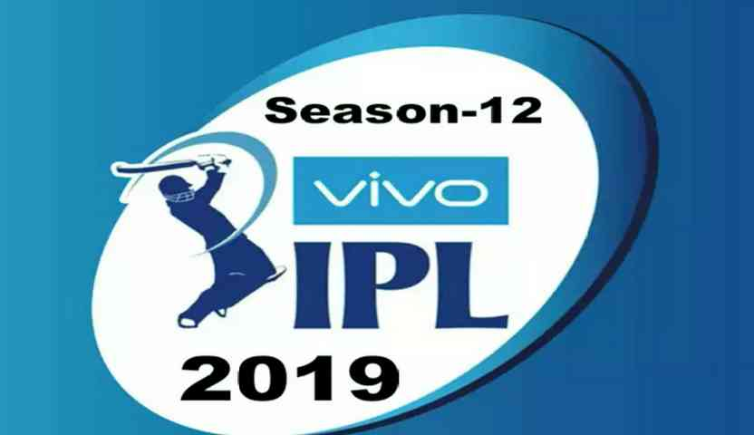 Vivo Ipl 2019 -Schedule | Time Table | Point Table |Teams