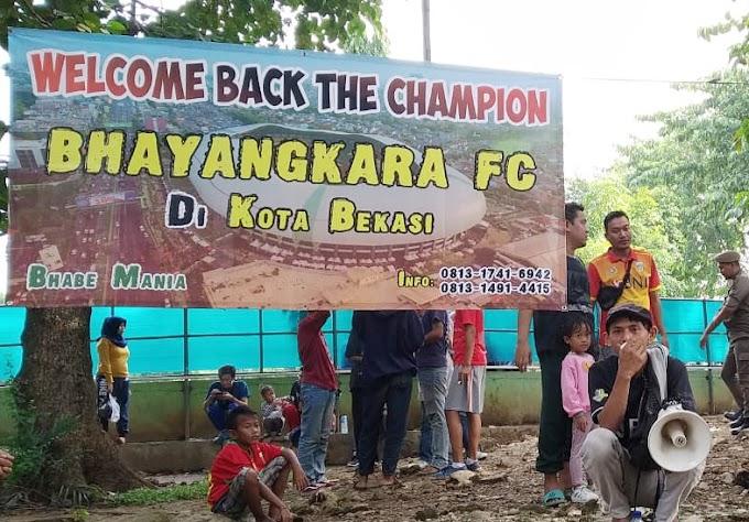 BHABE MANIA JEMPUT BOLA PENJUALAN TIKET BHAYANGKARA FC- TIMNAS U-22