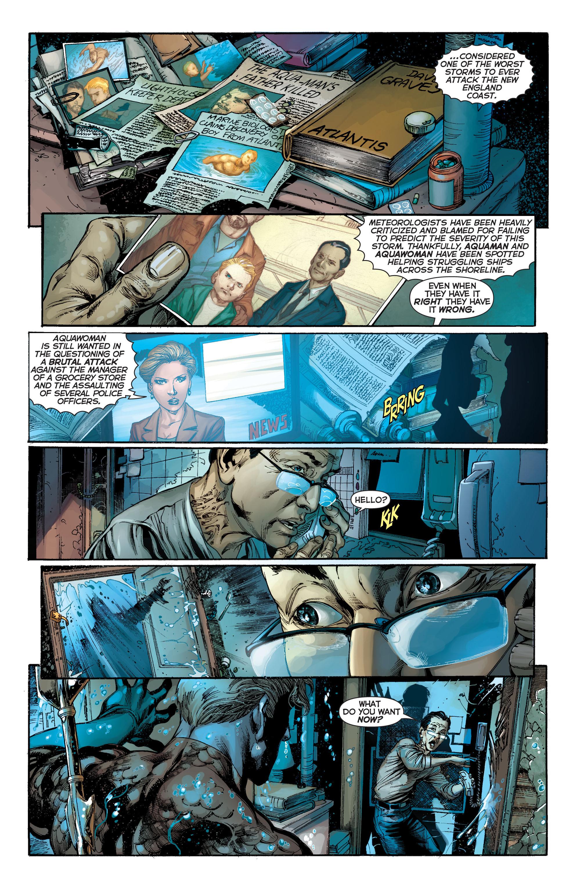 Read online Aquaman (2011) comic -  Issue #7 - 15