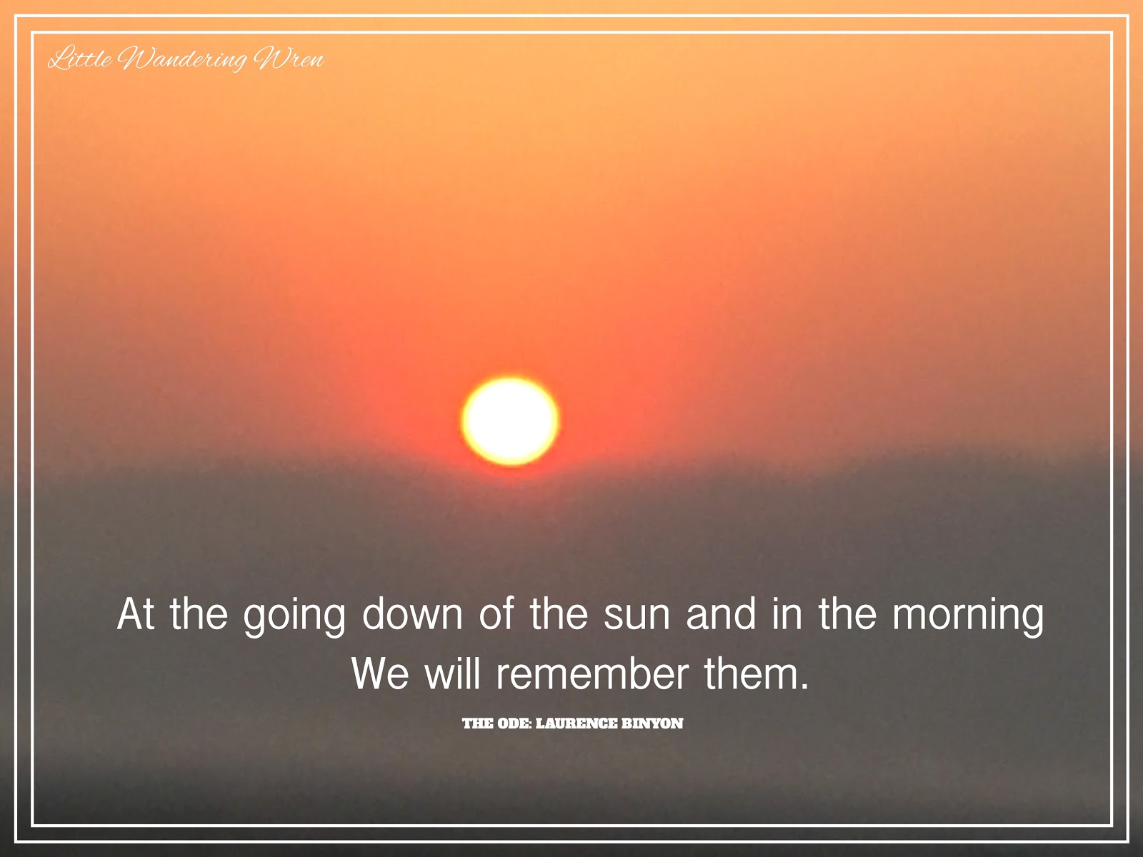 at the going down of the sun - photo #8