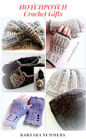 how to crochet, crochet gifts, hats, mittens, slippers, scarf,