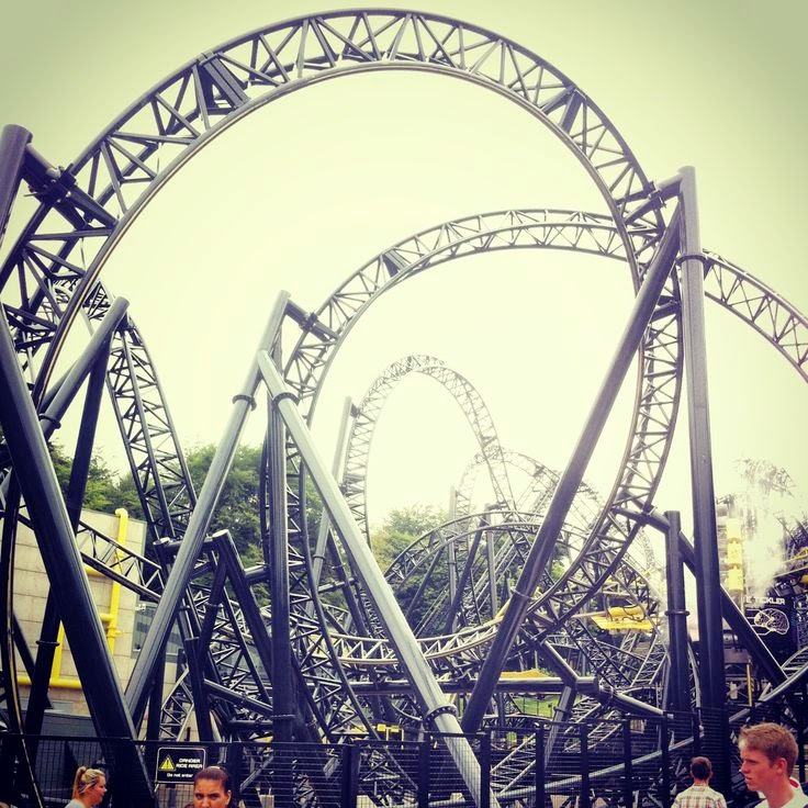 10 Amazing & Scariest Rollercoasters in the World | The Smiler, Alton Towers, UK