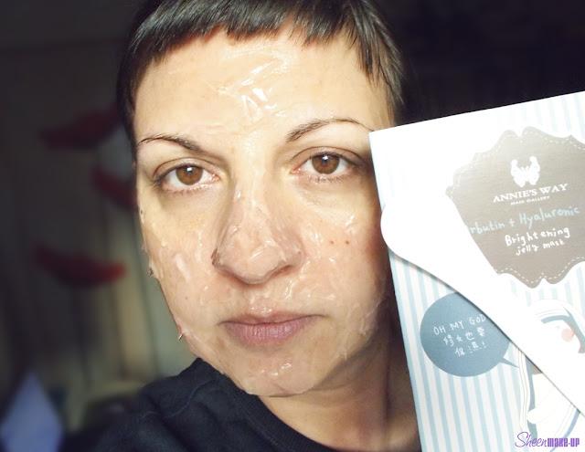 Arbutin + Hyaluronic Acid Brightnening Jelly Mask