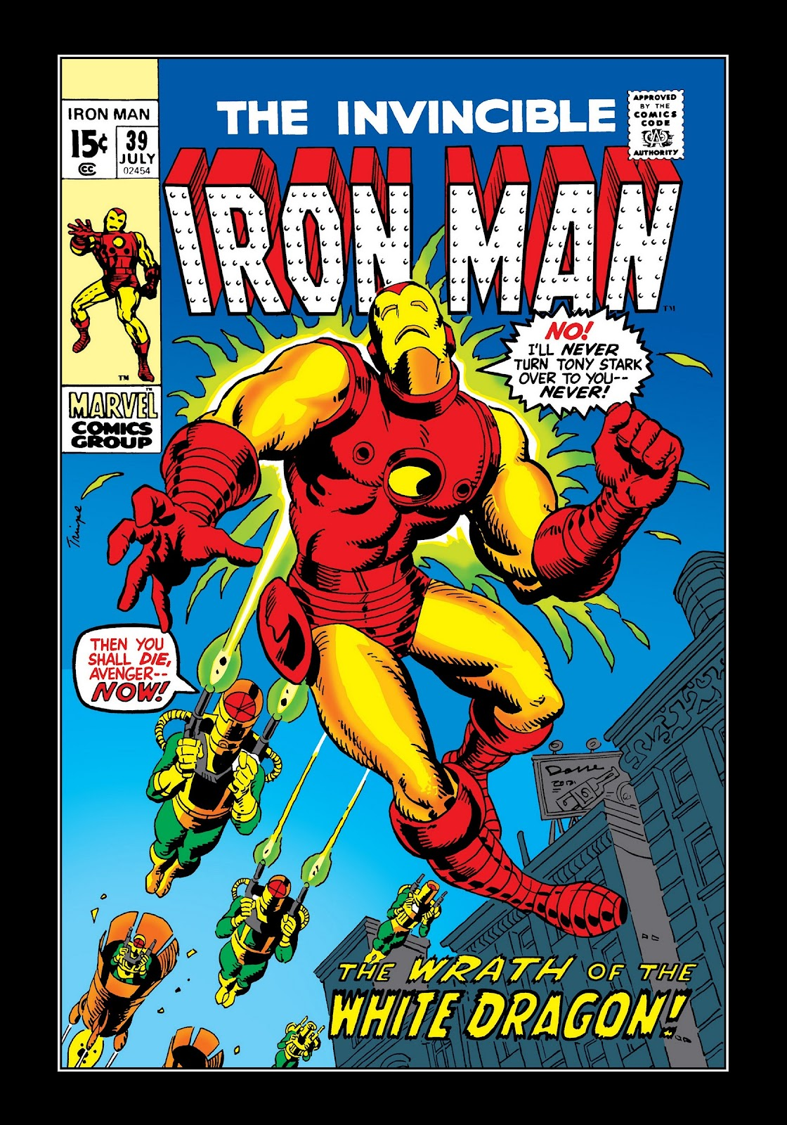 Read online Marvel Masterworks: The Invincible Iron Man comic -  Issue # TPB 8 (Part 1) - 7