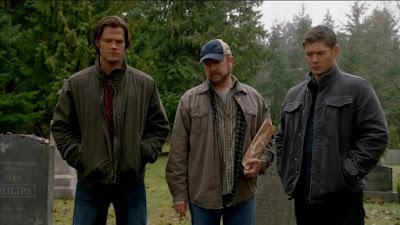 Dean & Sam Winchester Bobby Singer Supernatural