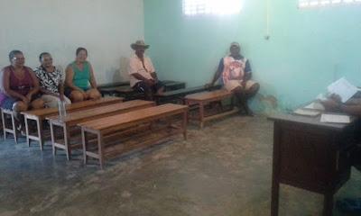 Reunião da Associação da Tiririca, no município de Mairi-Ba é realizada