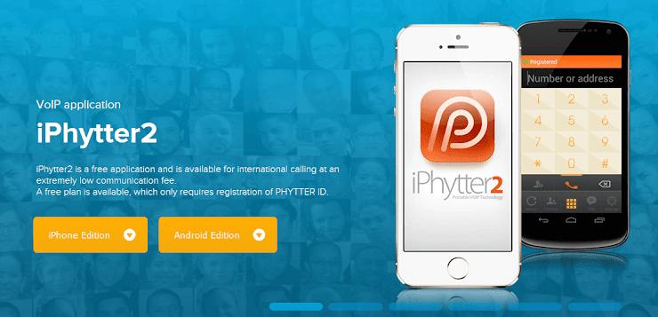 Phytter VoIP softphone