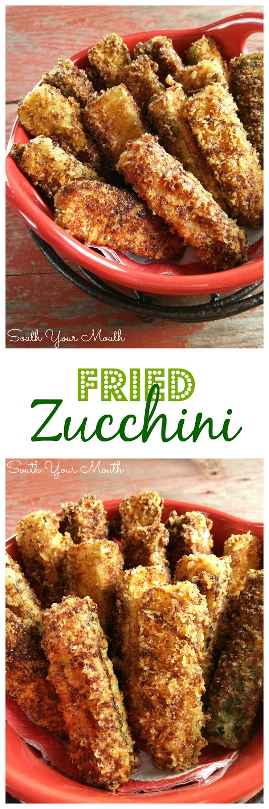 Delicious and easy fried zucchini! Dredged in grated asiago or parmesan and Italian bread crumbs then lightly fried in olive oil. #glutenfree #keto