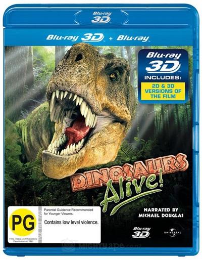 Dinosaurs alive 3D SBS Latino
