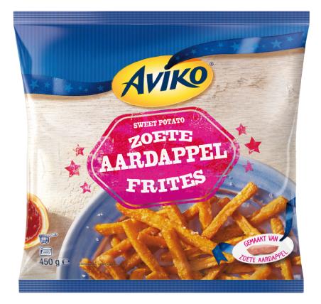 My happy kitchen test: Aviko zoete aardappelfriet