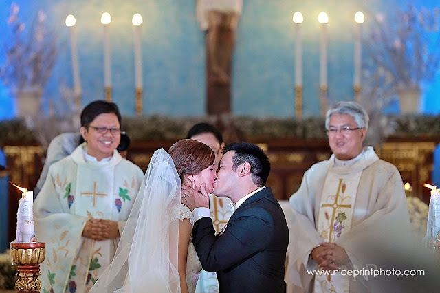 CONGRATULATIONS. John Prats marries Isabel Oli in Batangas