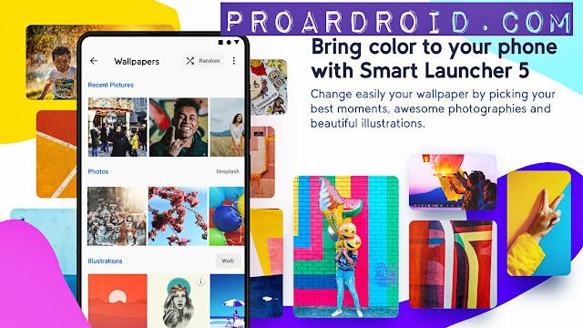 تحميل لانشر Smart Launcher 5 v5.1 نسخة كاملة للأندرويد logo