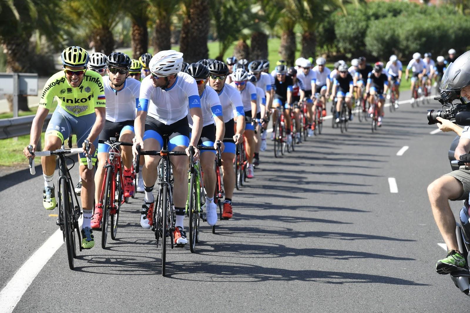 Follow Contador Gran Canaria