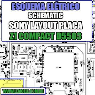 Sony Z1 Compact D5503 Layout da Placa - Esquemas Elétrico  Service Manual schematic Diagram Cell Phone Smartphone Celular Sony Z1 Compact D5503 Layout da Placa - Esquemas Elétrico      Esquematico Smartphone Celular Sony Z1 Compact D5503 Layout da Placa - Esquemas Elétrico