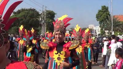 Ribuan Orang Ikuti Pekalongan Batik Carnival