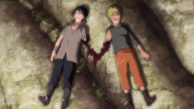 """last battle"" between Sasuke and Naruto wallpaper"